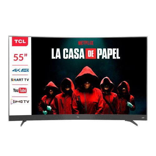 "LED 55"" 55P3CUS CURVO 4K UHD SMART TV"